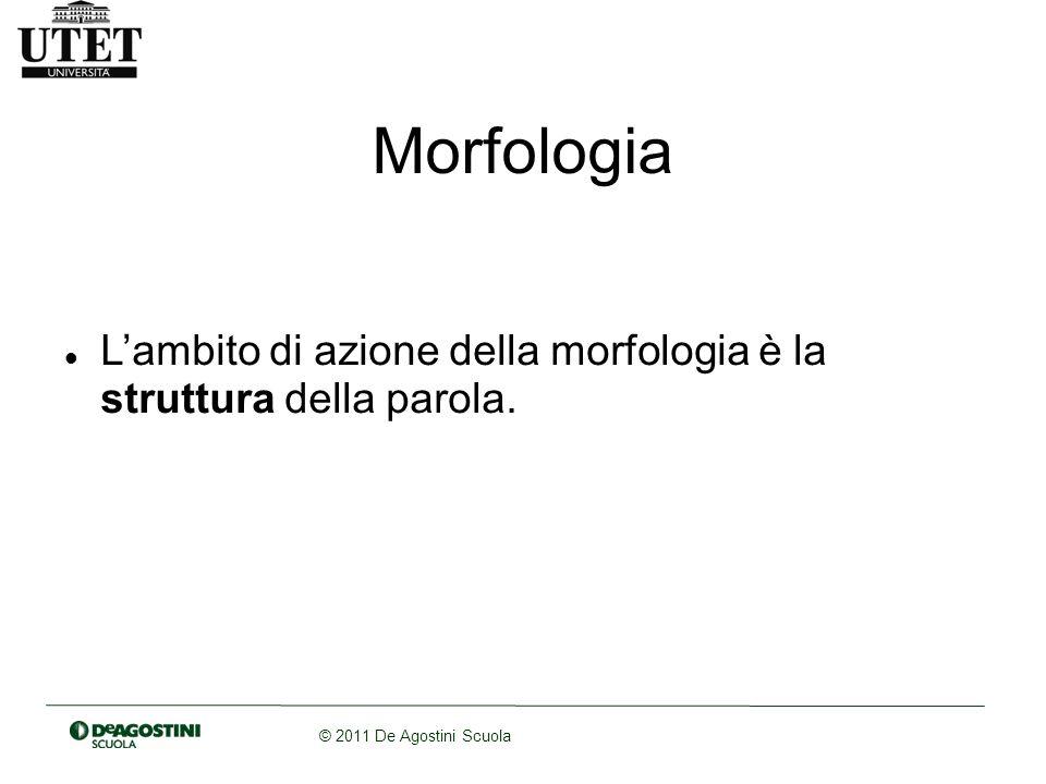 © 2011 De Agostini Scuola Suffissoidi (es.sociologia) Prefissoidi (es.