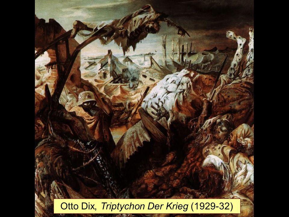 c Otto Dix, Triptychon Der Krieg (1929-32)