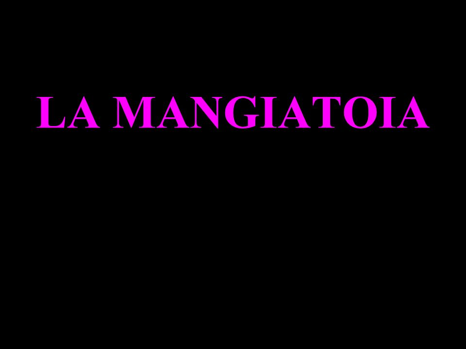 LA MANGIATOIA
