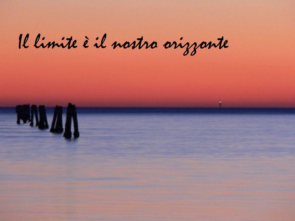 Il limite è il nostro orizzonte