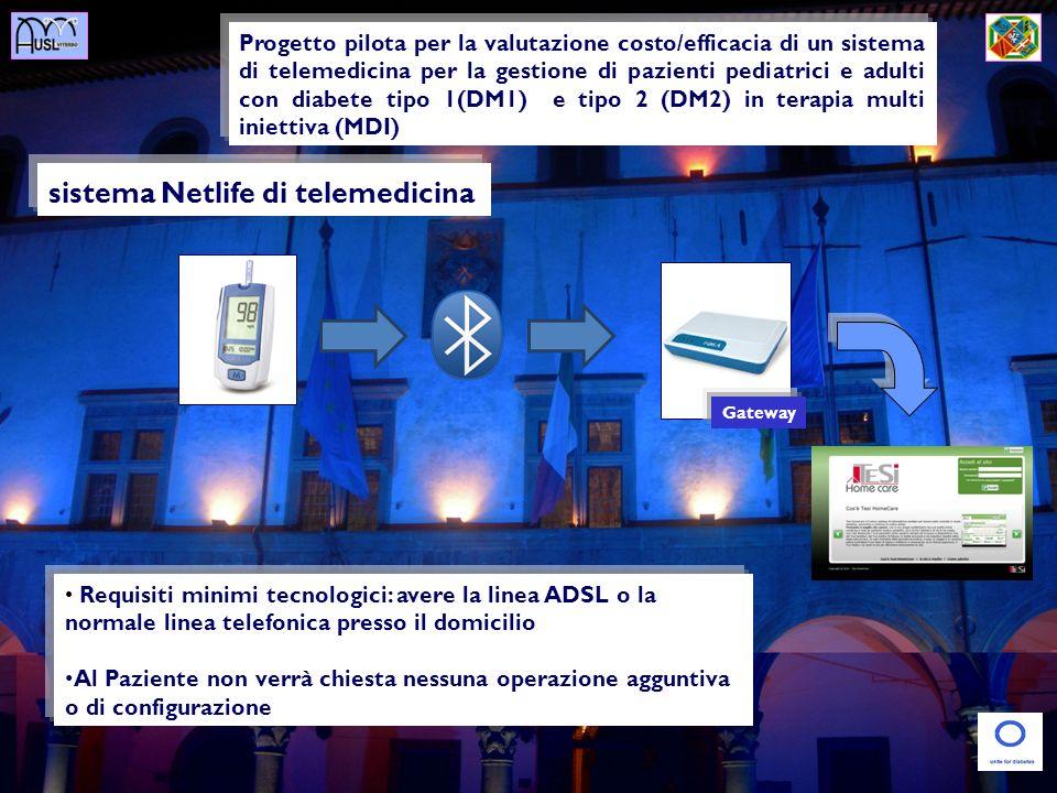 sistema Netlife di telemedicina Progetto pilota per la valutazione costo/efficacia di un sistema di telemedicina per la gestione di pazienti pediatric