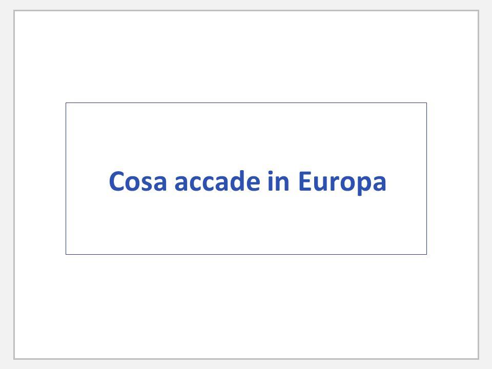 Cosa accade in Europa