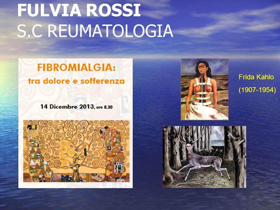 Fibromialgia: malattia molto comune caratterizzata da dolore muscolo-scheletrico diffuso e cronico astenia marcata (stanchezza )
