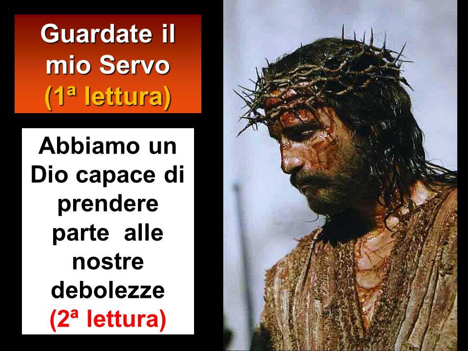 Allora Pilato fece prendere Gesù e lo fece flagellare. E i soldati, intrecciata una corona di spine, gliela posero sul capo e gli misero addosso un ma