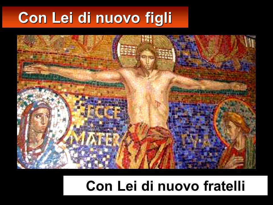 Ai piedi della Croce, la Madre accoglie lumanità Accostiamoci dunque con piena fiducia al trono della Grazia (2ª lettura)
