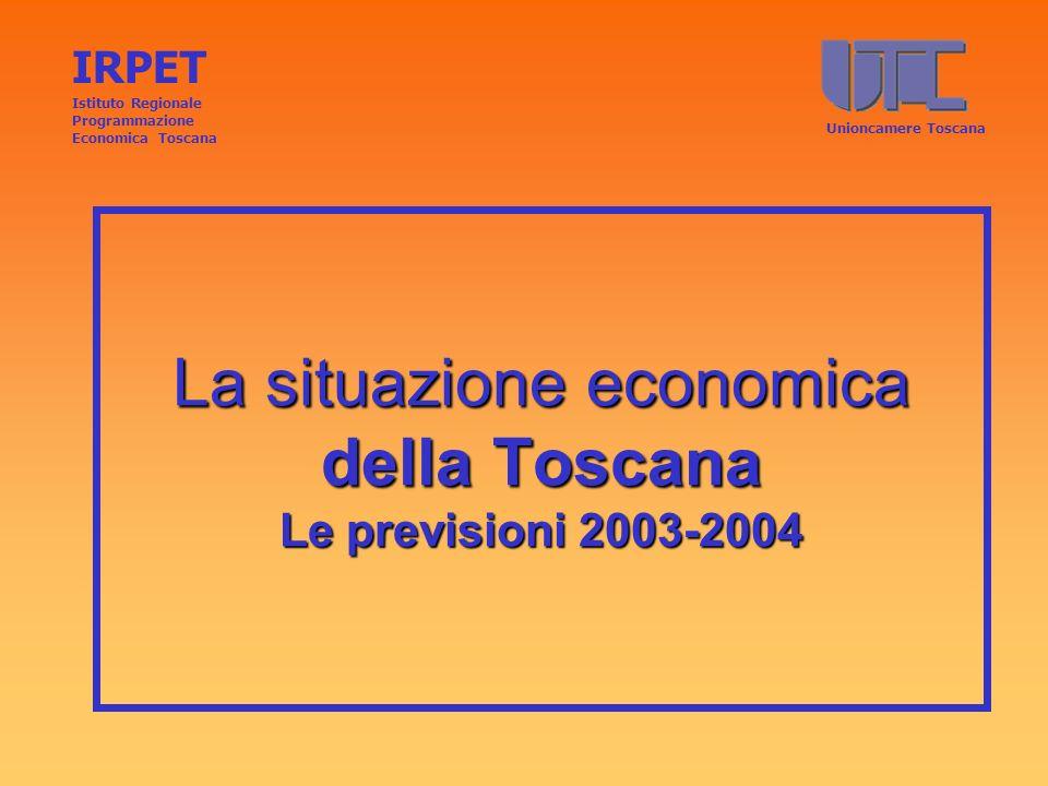 Fattori critici disoccupazione in Toscana Persistenza di disoccupazione di media e lunga durata Persistenza di divari territoriali IRPET Istituto Regionale Programmazione Economica ToscanaUNIONCAMERE TOSCANA