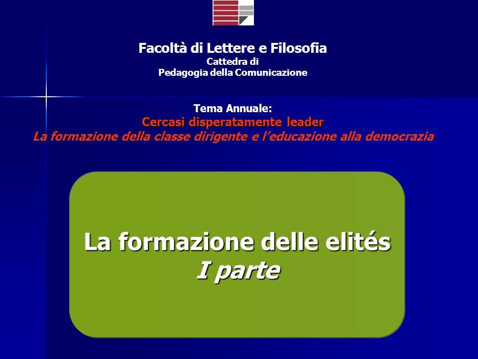 Università della Calabria Valorizzare le risorse umane