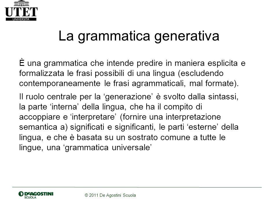 © 2011 De Agostini Scuola I componenti della g.g.