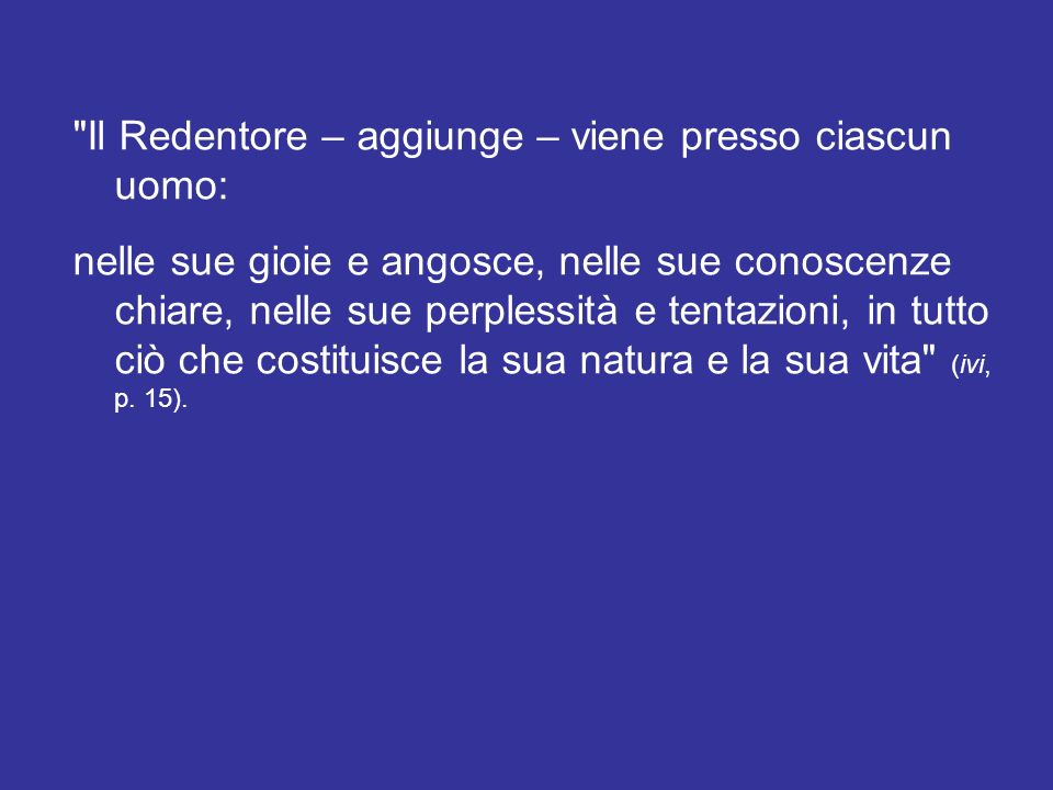Cari amici, la nostra salvezza poggia su una venuta , ha scritto Romano Guardini (La santa notte.