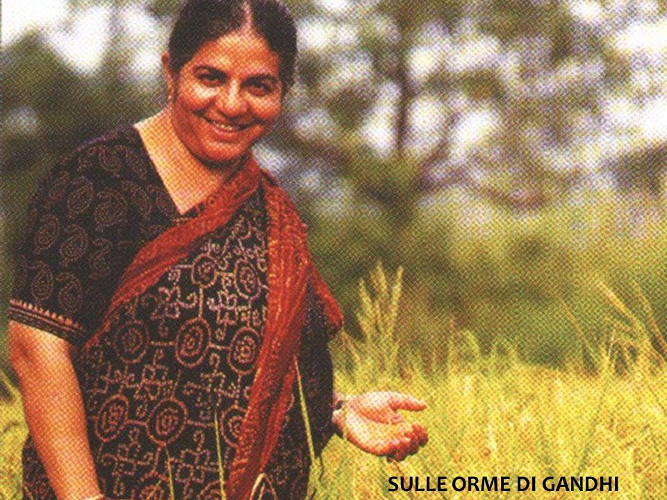 Vandana Shiva E una delle scienziate più famose al mondo.