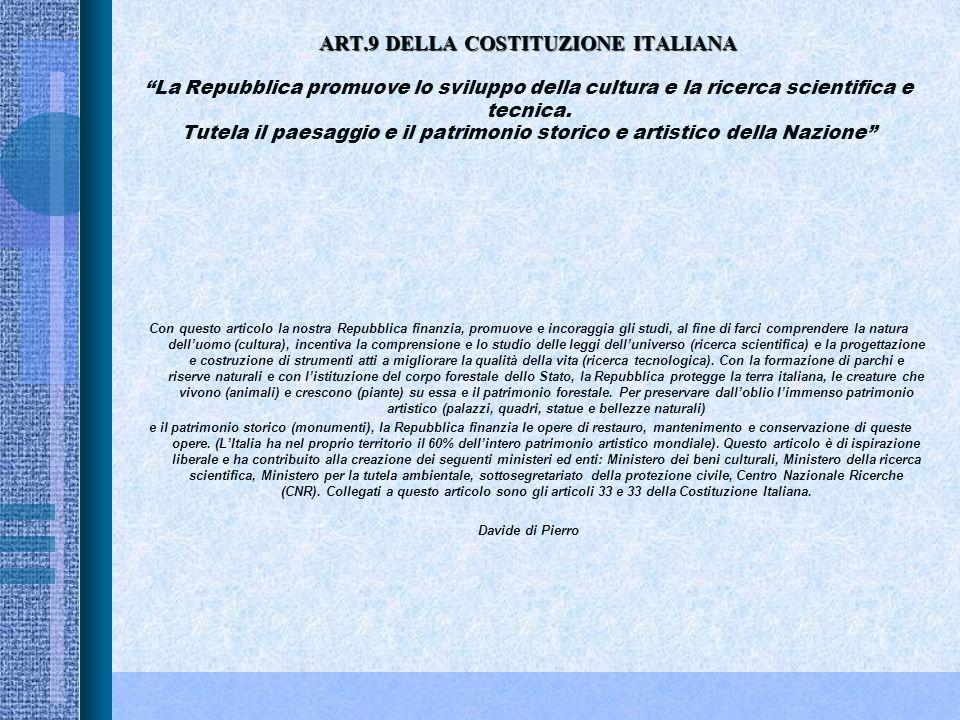 ART.8 DELLA COSTITUZIONE ITALIANA ART.8 DELLA COSTITUZIONE ITALIANATutte le confessioni religiose sono egualmente libere davanti alla legge. Le confes