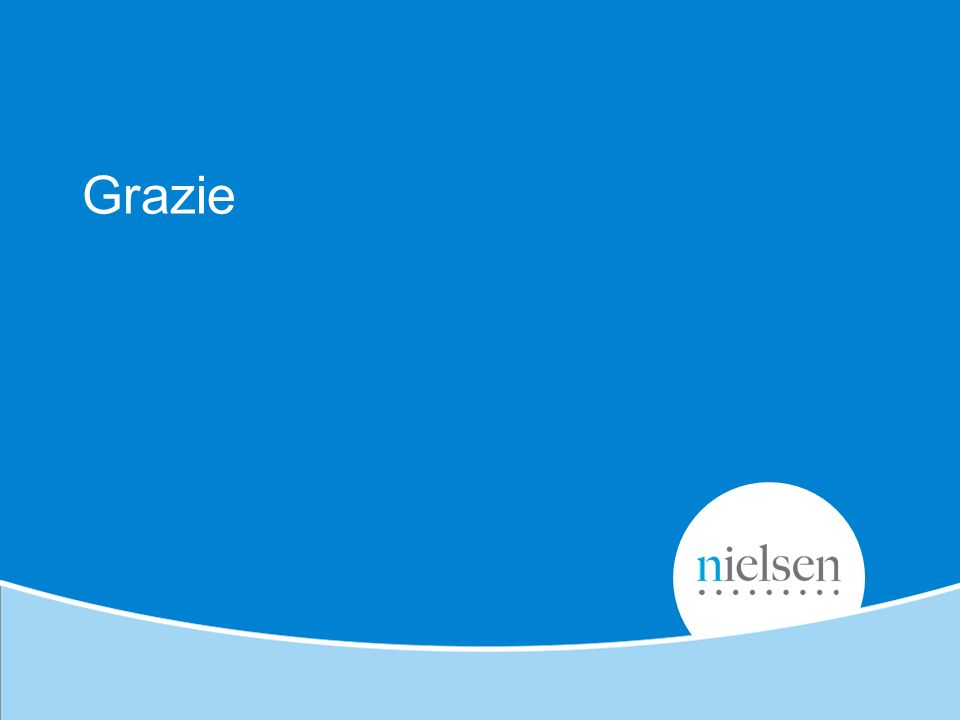 Copyright © 2012 Nielsen. Confidential and proprietary. Grazie