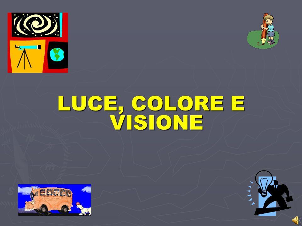 LUCE, COLORE E VISIONE