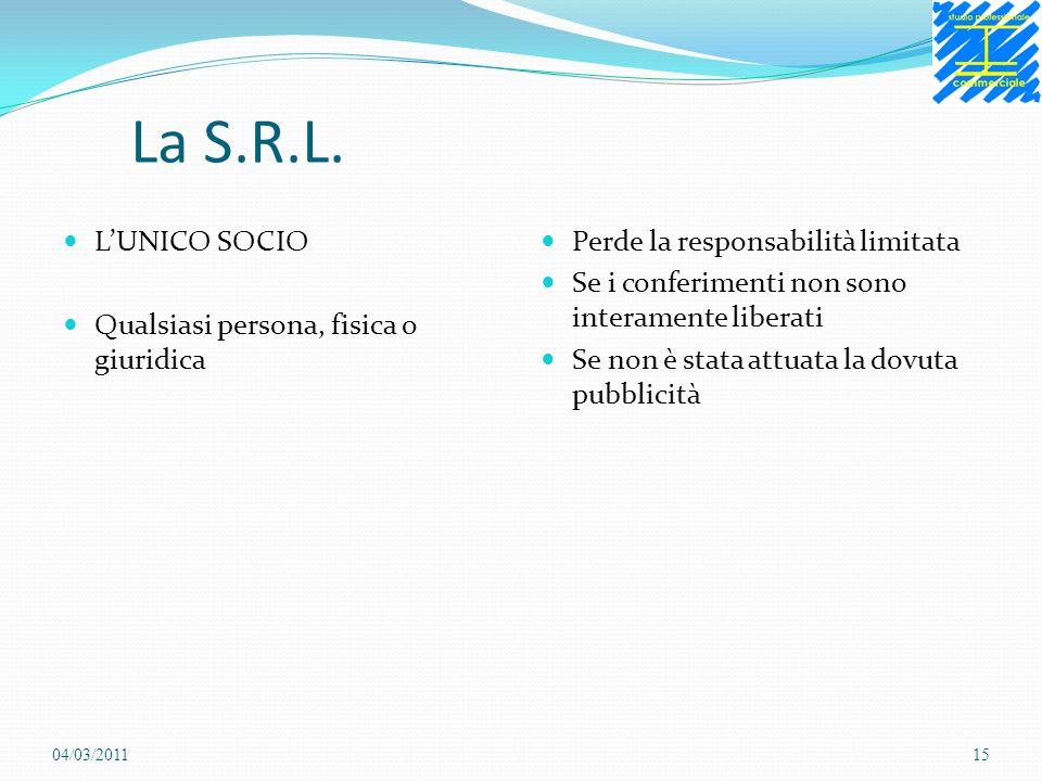 La S.R.L.