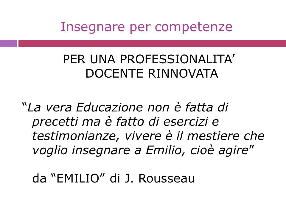 Personalizzazione dell insegnamento 1.Competenze-chiave di cittadinanza Europea 2.