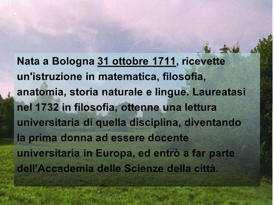 Nasce a Milano il 16 maggio del 1718.