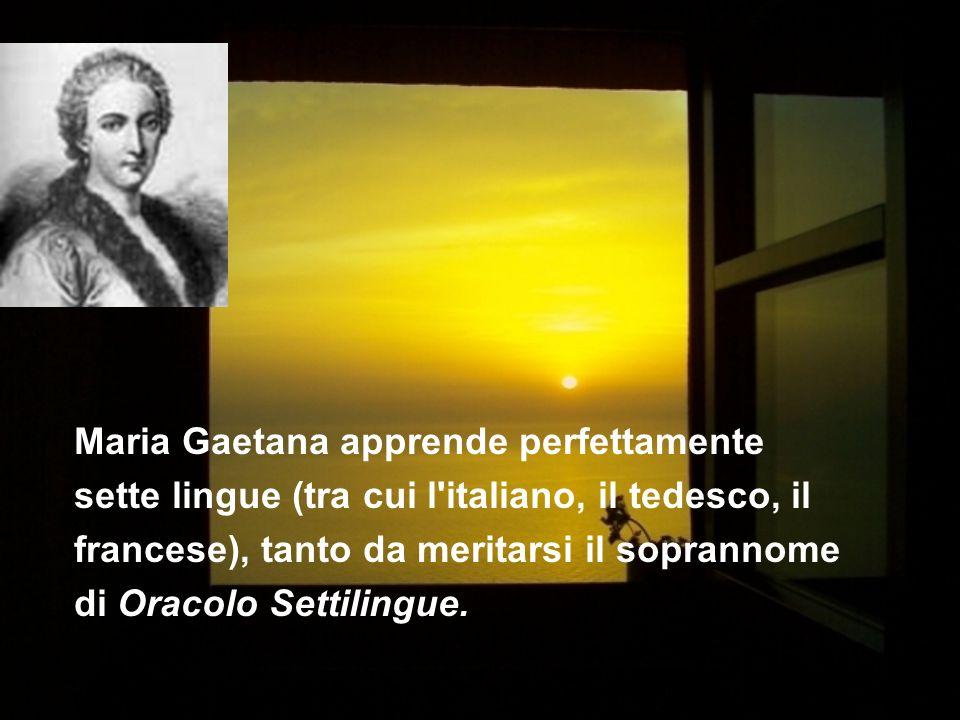 Nata a Bologna 31 ottobre 1711, ricevette un istruzione in matematica, filosofia, anatomia, storia naturale e lingue.