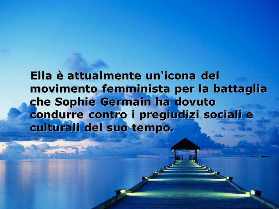 Marie-Sophie Germain (Parigi, 1º aprile 1776 – Parigi, 27 giugno 1831) è stata una matematica francese.