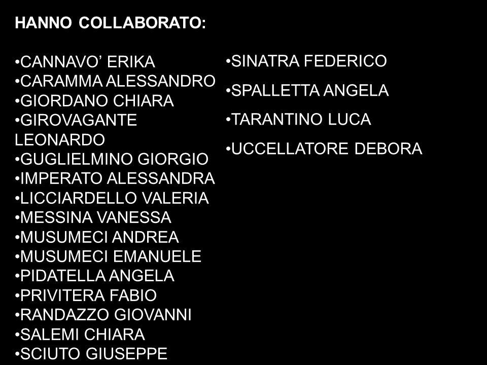 PRESIDE: Professore Corrado Camarda.DIRETTRICE AMMINISTRATIVA: Dottoressa Agata Cariotti.