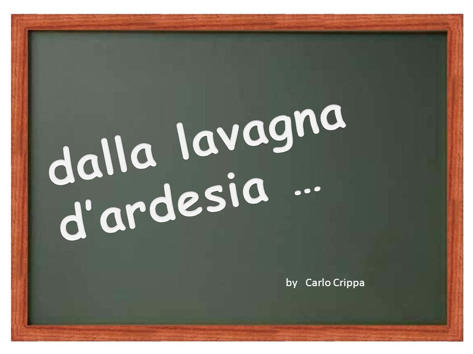by Carlo Crippa