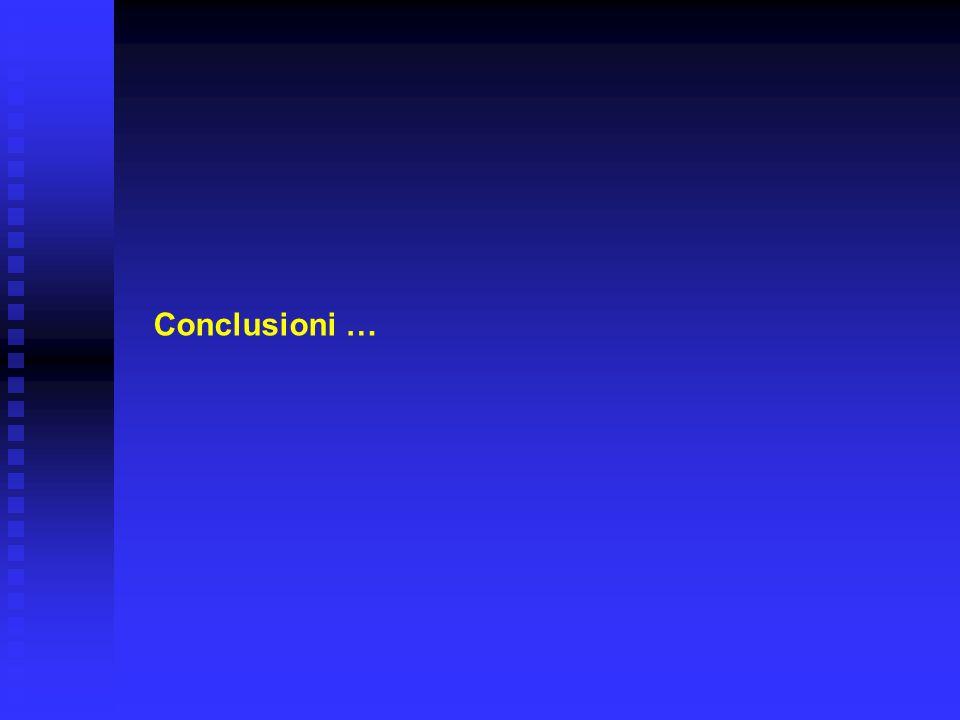 Conclusioni …