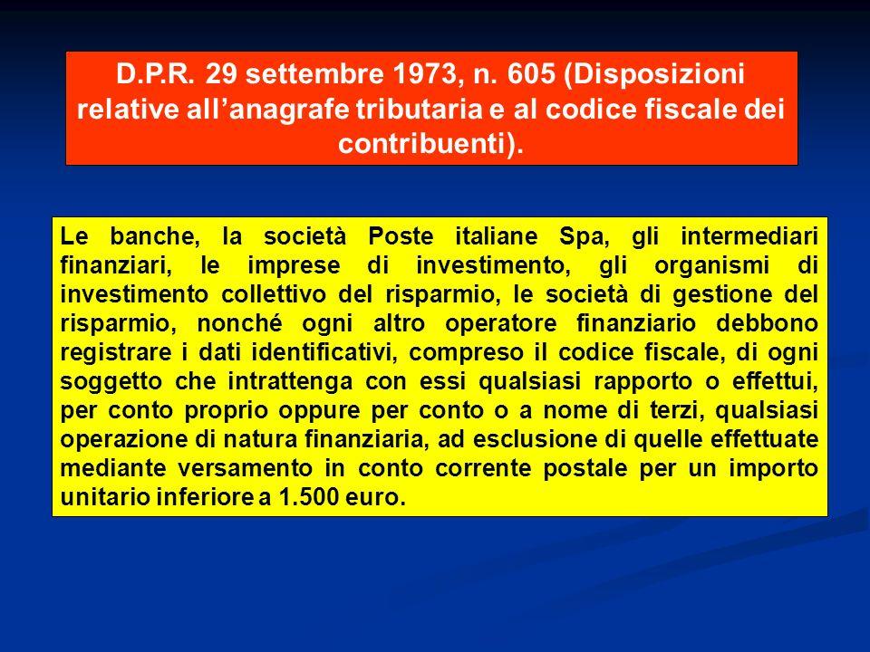 D.P.R.29 settembre 1973, n.