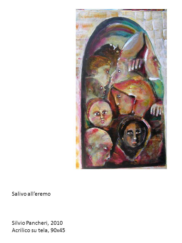 Salivo alleremo Silvio Pancheri, 2010 Acrilico su tela, 90x45