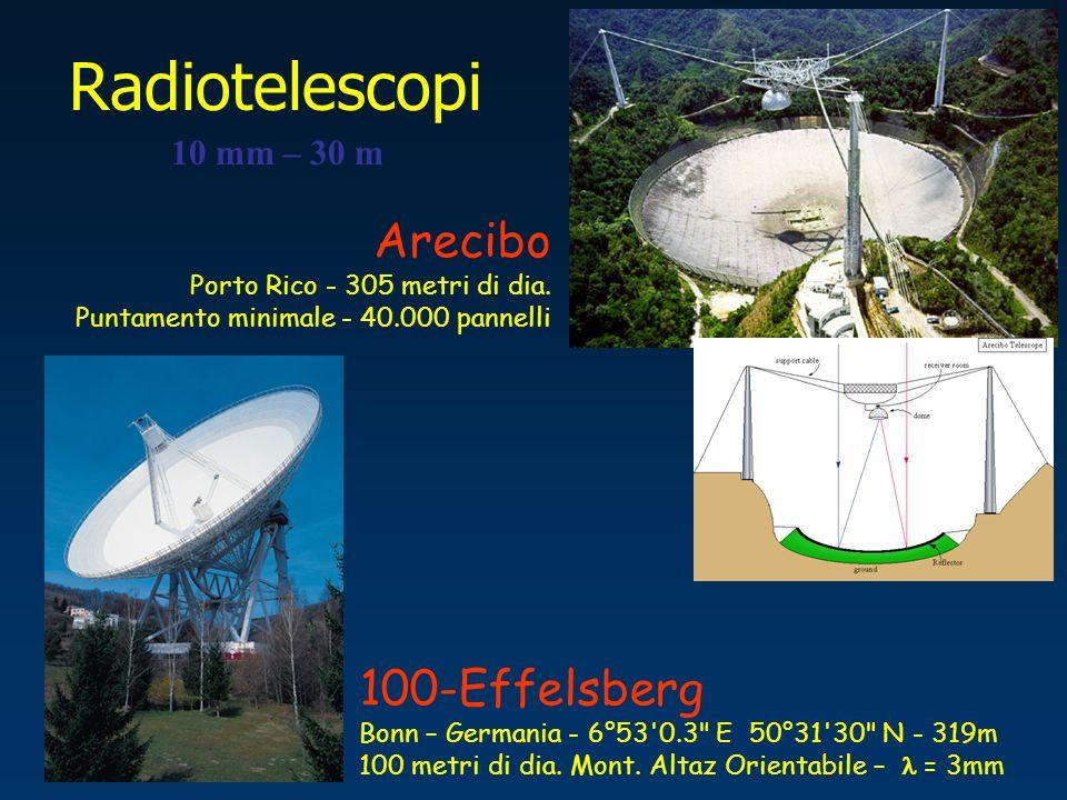 Radiotelescopi 10 mm – 30 m 100-Effelsberg Bonn – Germania - 6°53'0.3