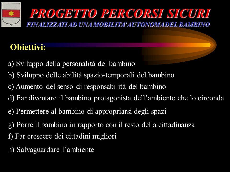 PROGETTO PERCORSI SICURI