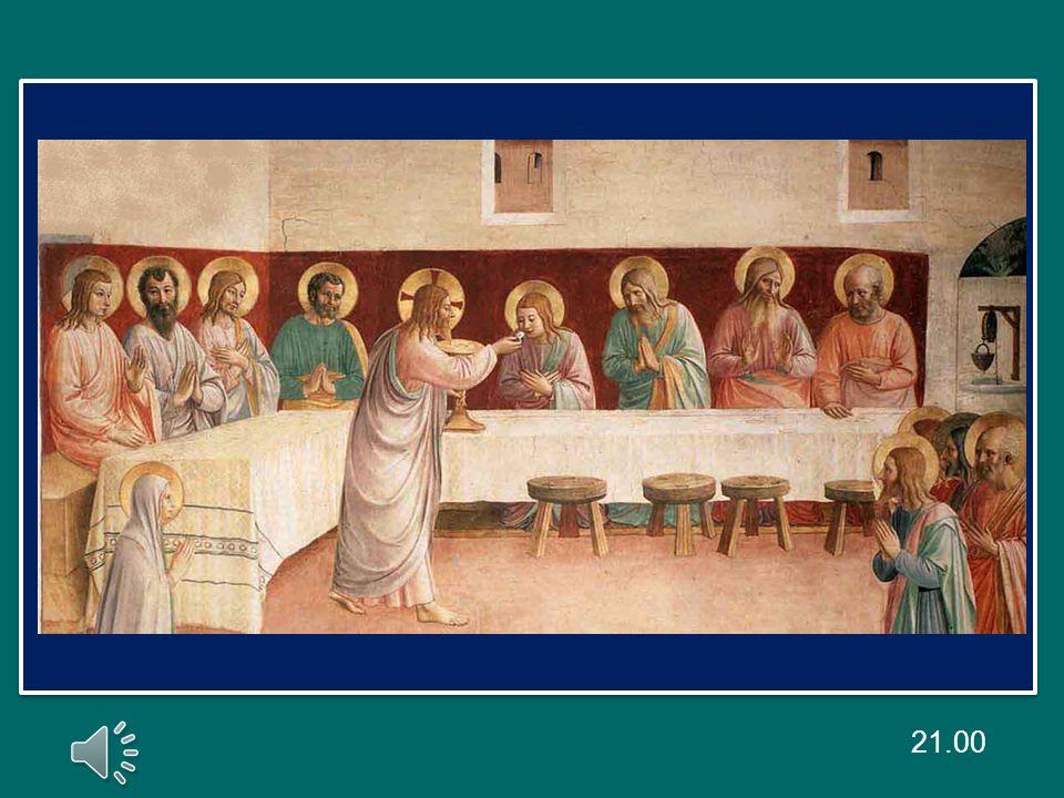 Mercoledì scorso ho parlato della comunione dei santi, intesa come comunione tra le persone sante, cioè tra noi credenti.