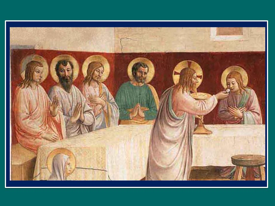 mens impletur gratia: lanima è ricolma di grazia, et futurae gloriae nobis pignus datur.