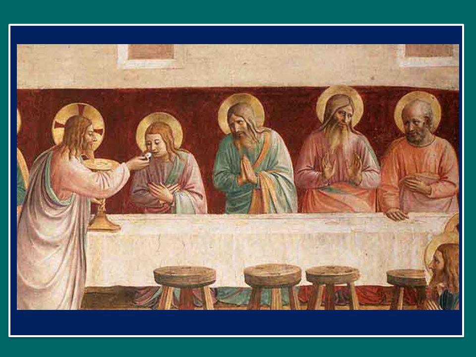 mens impletur gratia: lanima è ricolma di grazia, et futurae gloriae nobis pignus datur. Alleluia. e ci è dato il pegno della gloria futura. Alleluia