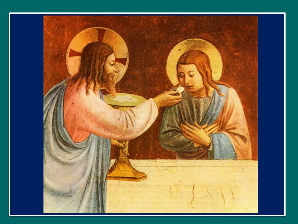 La grazia dei Sacramenti alimenta in noi una fede forte e gioiosa, una fede che sa stupirsi delle meraviglie di Dio e sa resistere agli idoli del mondo.