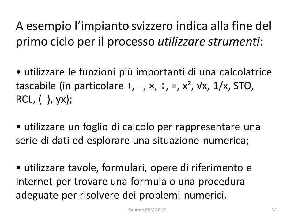A esempio limpianto svizzero indica alla fine del primo ciclo per il processo utilizzare strumenti: utilizzare le funzioni più importanti di una calco