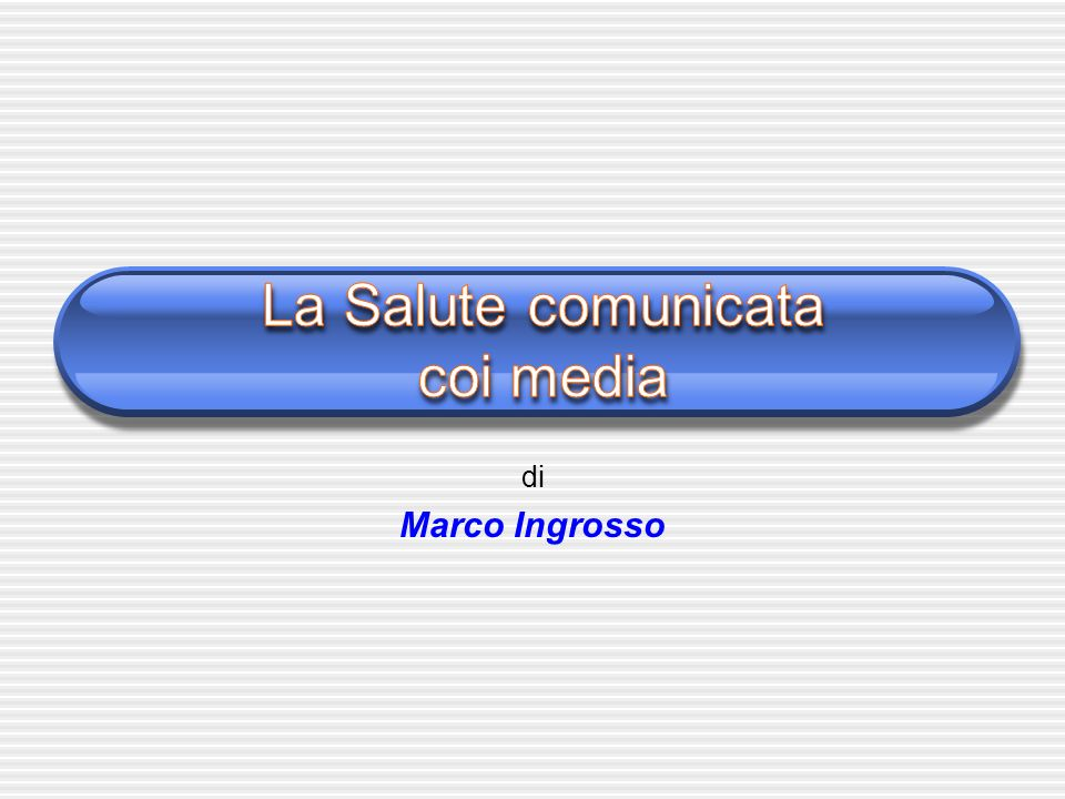 di Marco Ingrosso