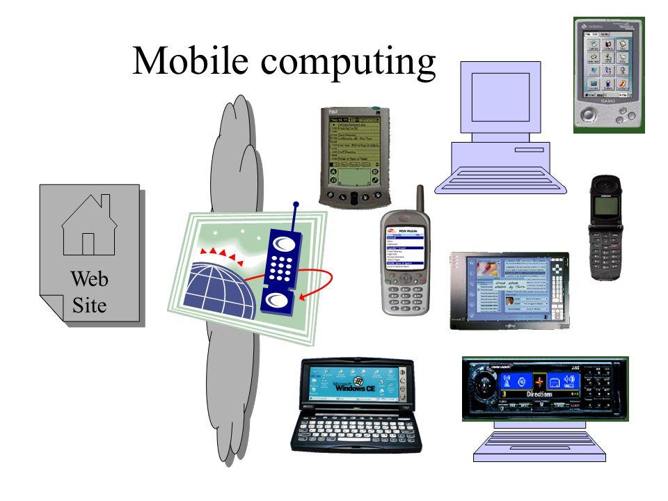 Mobile computing Web Site