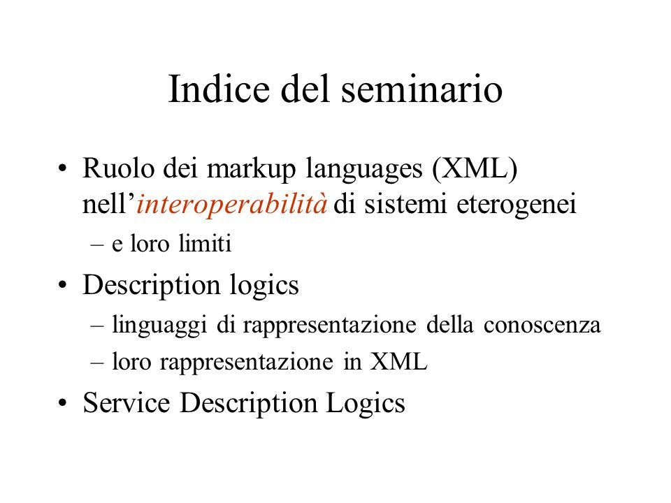 Cenni su RDF Elementare linguaggio di K.R.