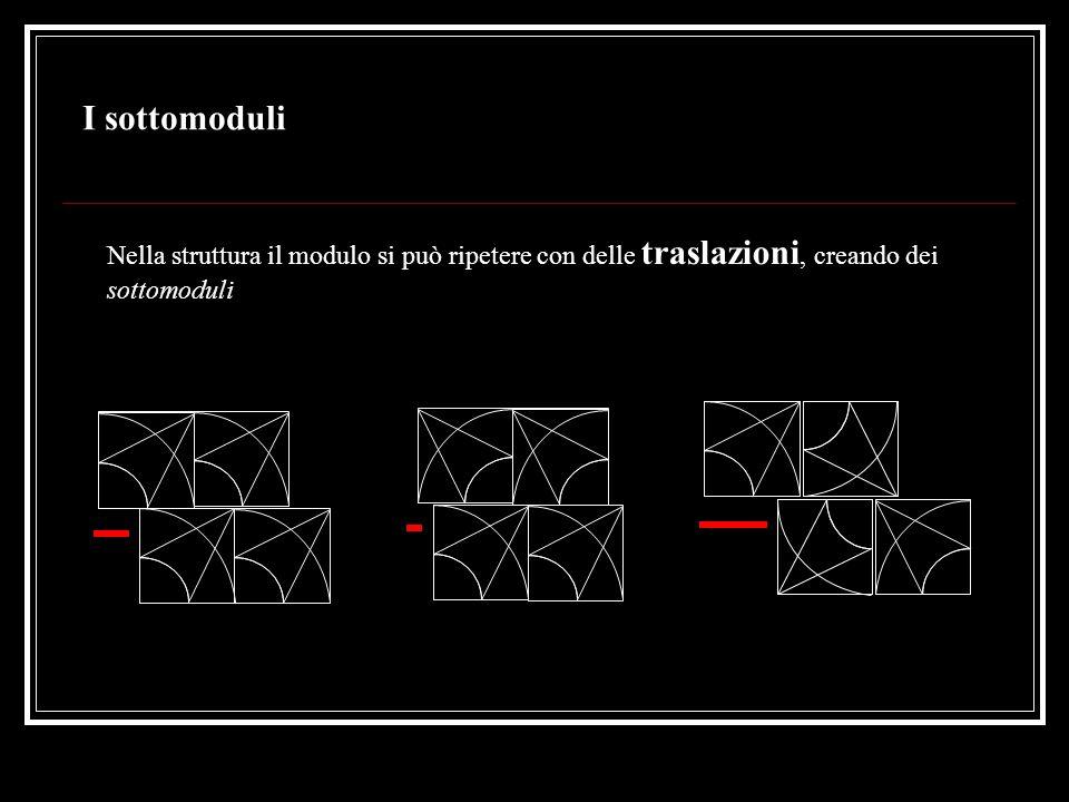 La struttura modulare complessa con traslazioni (alcuni soluzioni del modulo A - B)