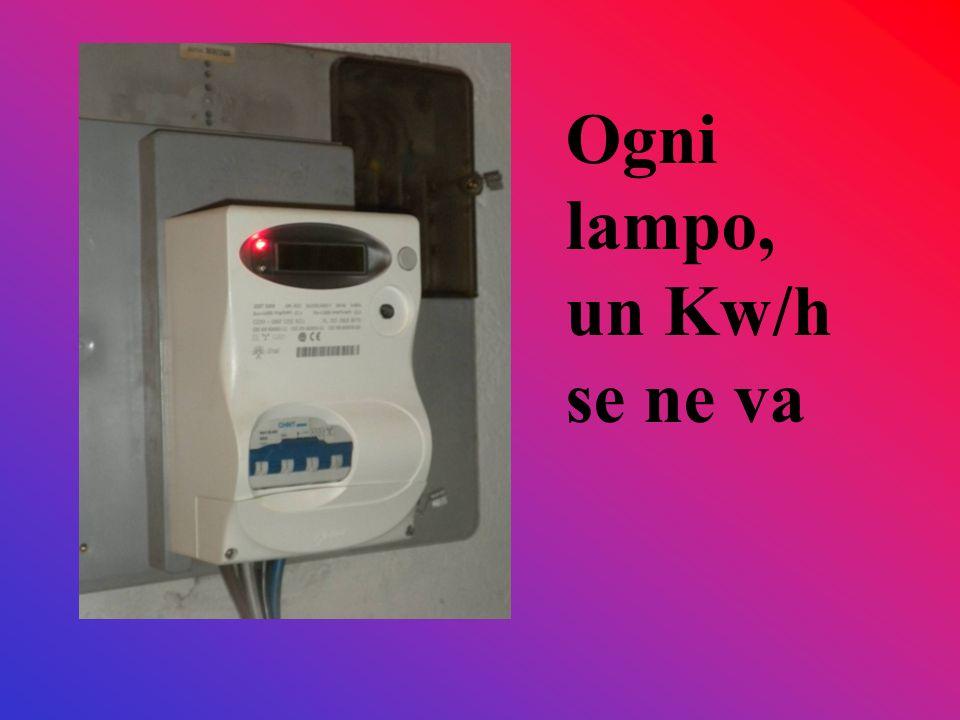 Incontro con Davide, tecnico dellUniversità Insubria di Varese che guida il progetto Vi consiglio Spegnere le luci quando non servono, coi tanti punti luce che ci sono nella scuola questo è il punto più critico di spreco