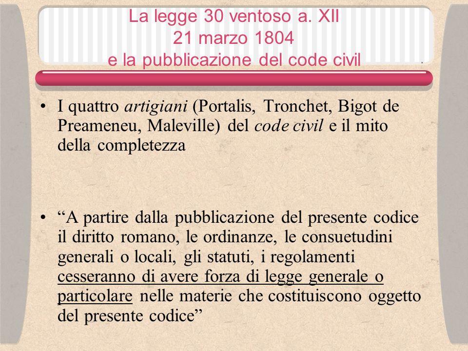 Code civil nella seconda metà dellOttocento Dal punto di vista dei socialisti Bibbia dellegoismo (G.