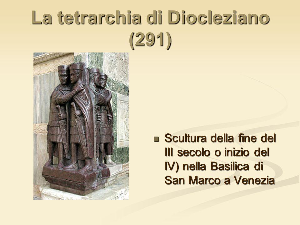 Divisione dellImpero Romano (395 d.C.)