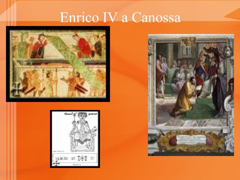 Enrico IV a Canossa