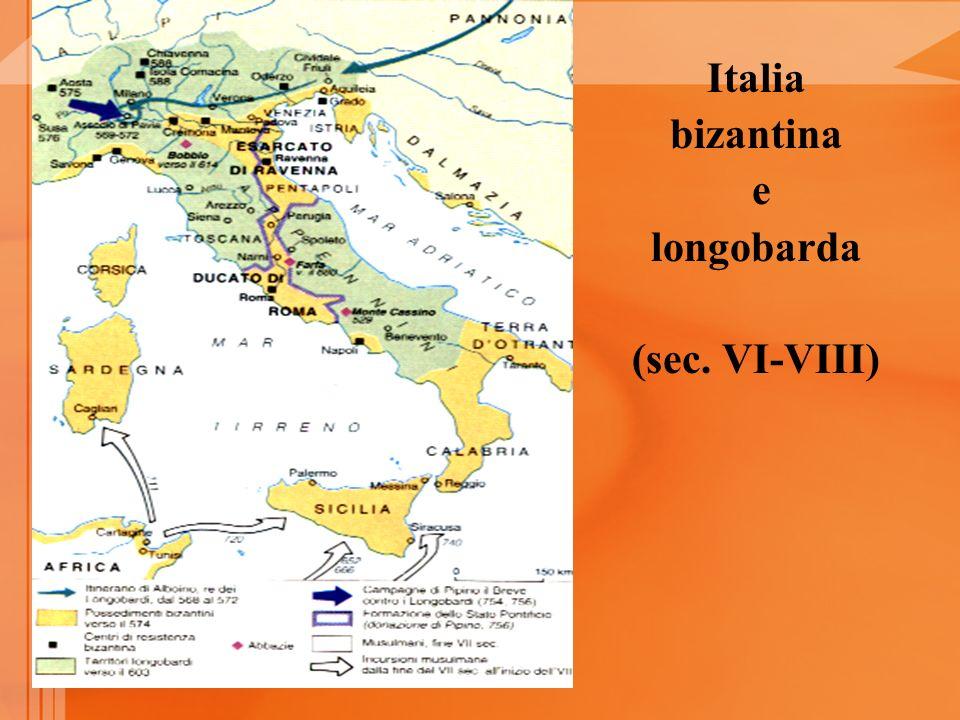 Italia bizantina e longobarda (sec. VI-VIII)