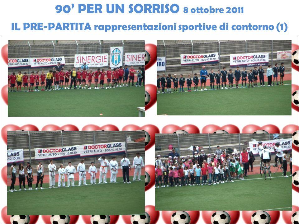 IL PRE-PARTITA rappresentazioni sportive di contorno (1)
