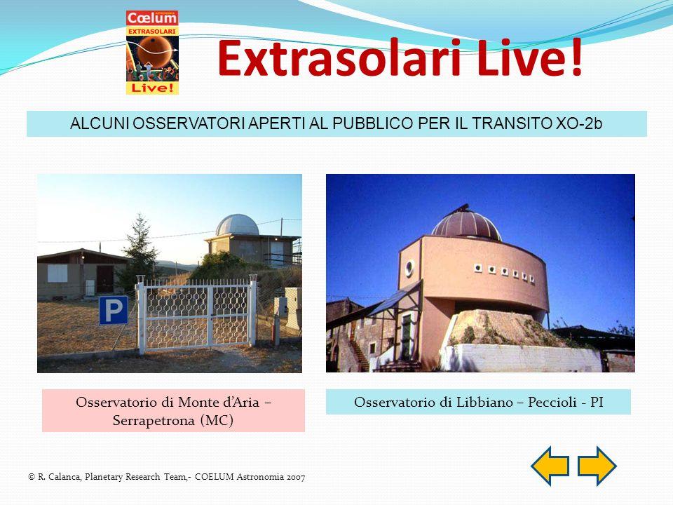 Extrasolari Live.