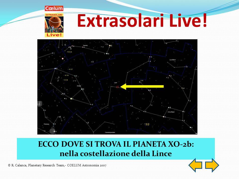 Extrasolari Live. ECCO DOVE SI TROVA IL PIANETA XO-2b: nella costellazione della Lince © R.