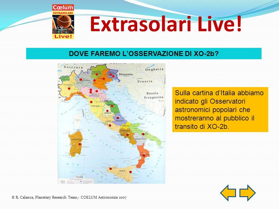 Extrasolari Live. © R.