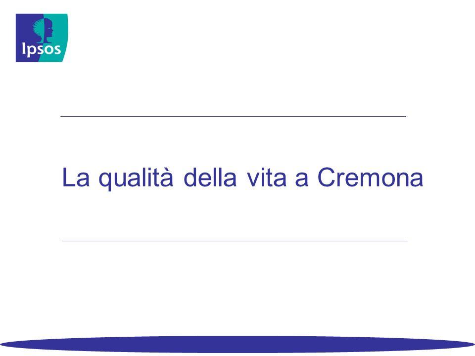 La qualità della vita a Cremona