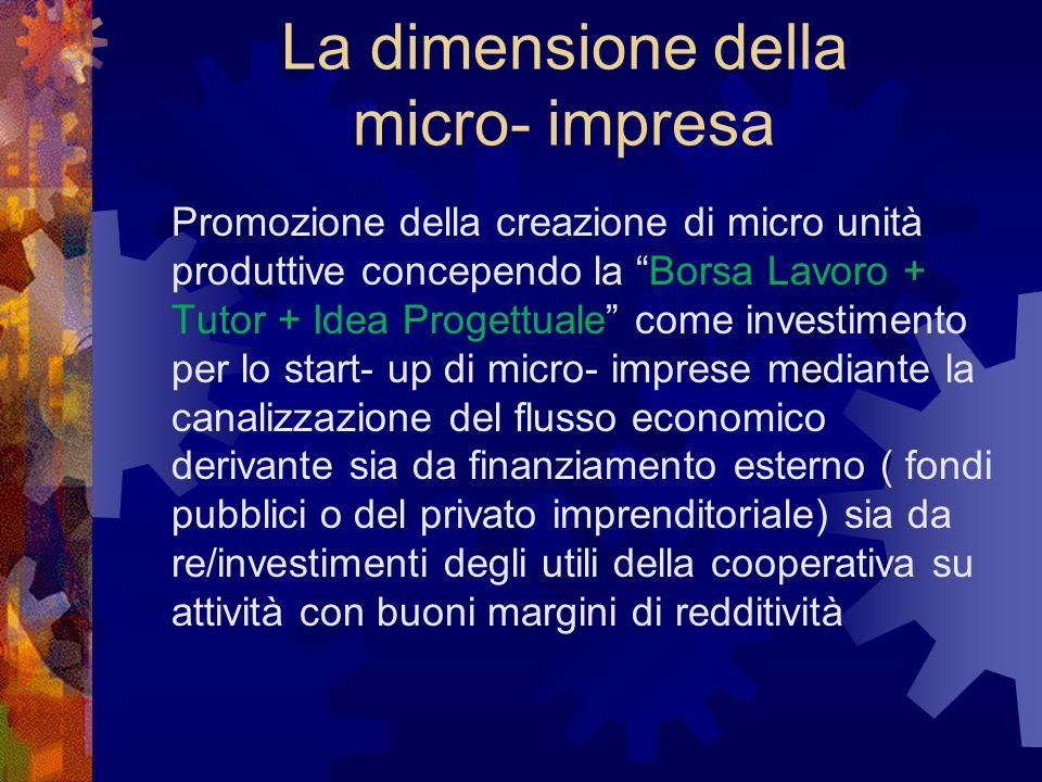 Vantaggi Mainstreaming Responsabilizzazione individuale Empowerment Semplicità Motivazione Soddisfazione Costi contenuti