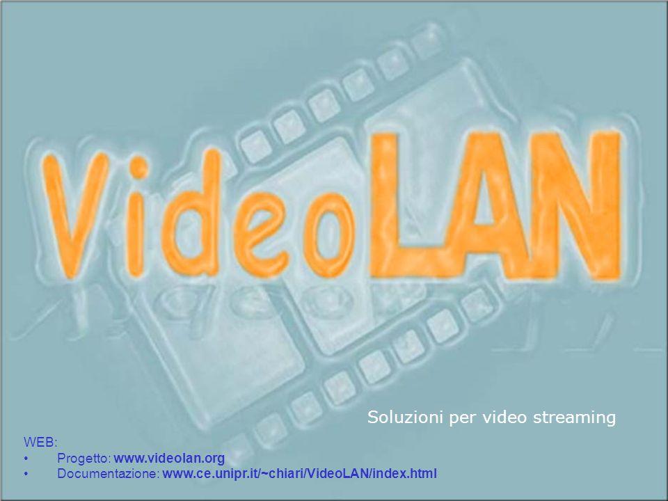 VideoLAN – Sommario Sistemi di Elaborazione – a.a.